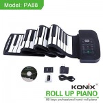 88 Key MIDI Flexible 140 Tone Electronic Roll Up Piano PA88 for PC Computer 2016