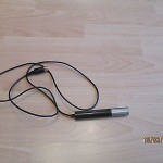vintage german dynamic microphone